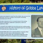 Gobba Lake Signage.