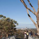 Views through to Perth City.