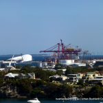 View to Fremantle Port.