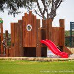 Iluka Foreshore Park playground facilities.