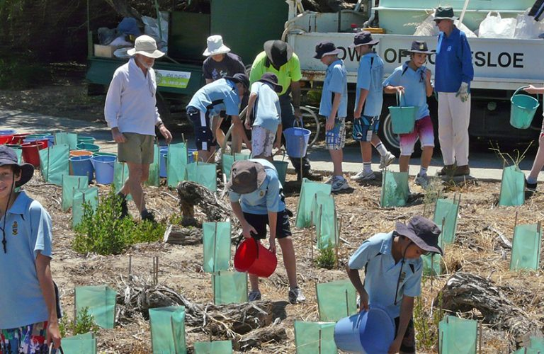 Cottesloe Coastcare including Town of Cottesloe support